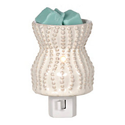 Cream Coastal Tart Burner Night Light