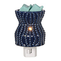 Blue Coastal Tart Burner Night Light