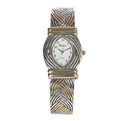 Whittington Women's Round Cuff Watch