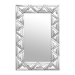 Aztec Mirrored Geometric Mirror