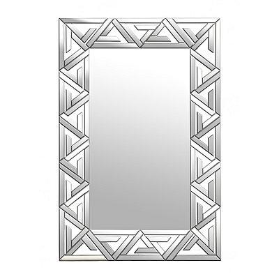 Aztec Mirrored Geometric Mirror