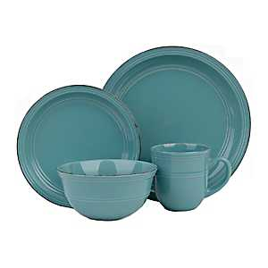 Turquoise Madelyn 16-pc. Dinnerware Set