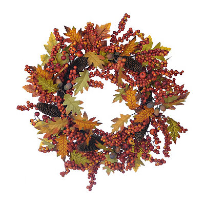Berry and Acorn Wreath