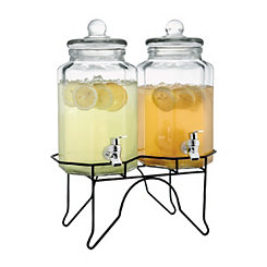 Laredo Octagon Beverage Dispensers, Set of 2