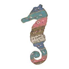 Seahorse Wooden Plaque
