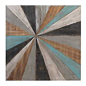 Distressed Colors Wood Plank Plaque