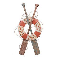 Oars and Life Float Wall Plaque