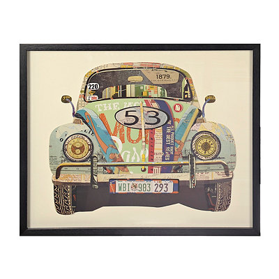 Volkswagen Collage Shadowbox