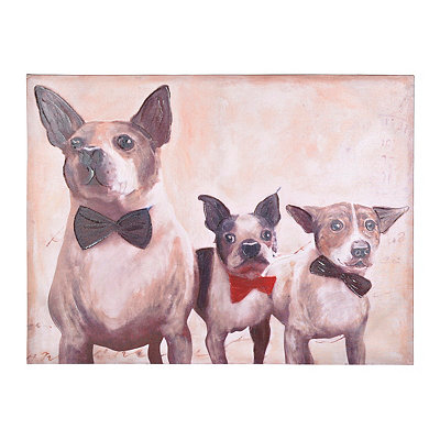 Three Amigos Canvas Art Print