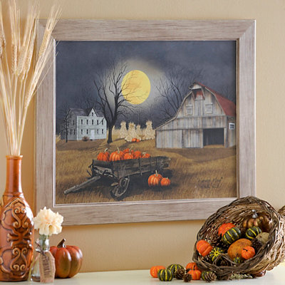Harvest Moon Framed Art Print