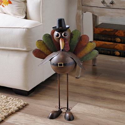 Turkey Tom Metal Bobble Head