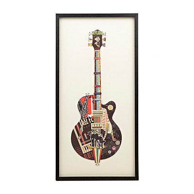Black Guitar Shadowbox