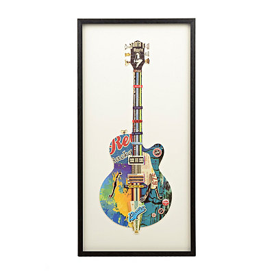 Blue Guitar Shadowbox
