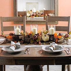 Natural Pumpkin Centerpiece