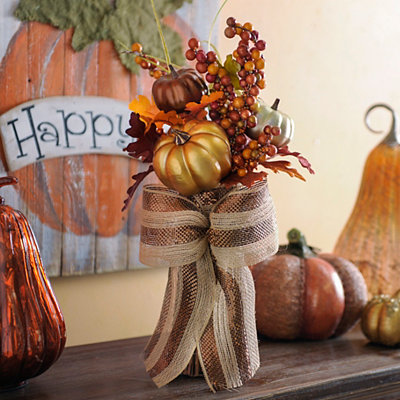 Metallic Pumpkin Mix Stack