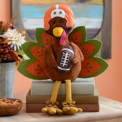 Football Turkey Shelf Sitter