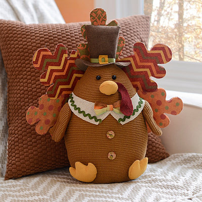 Mr. Turkey Plush Tabletop Sitter