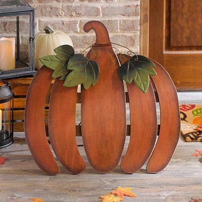 Rustic Wooden Pumpkin Easel