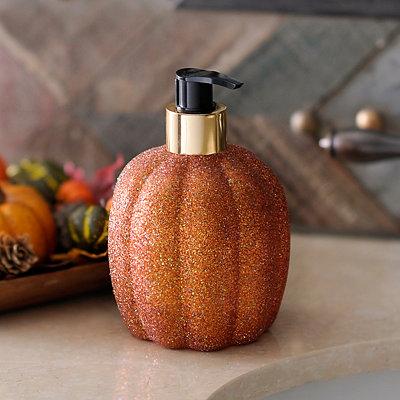 Glitter Pumpkin Hand Soap