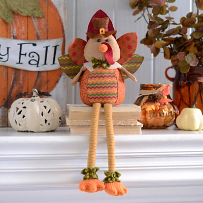 Harvest Turkey Shelf Sitter