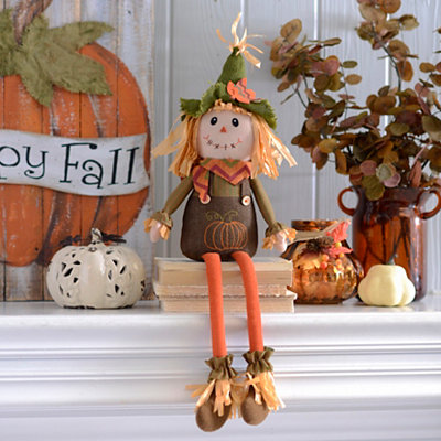 Scarecrow Boy Shelf Sitter