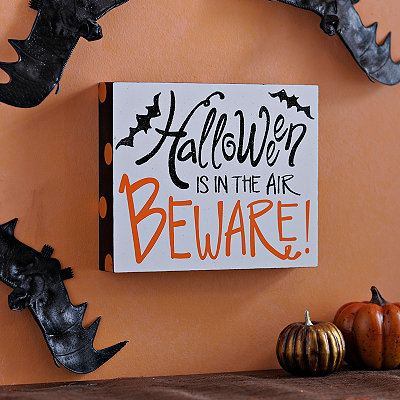 Halloween is in the Air, Beware Word Block