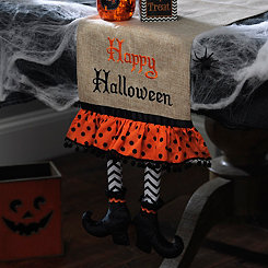 Witch Shoe Table Runner