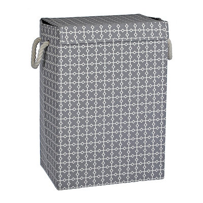 Gray Collapsible Hamper