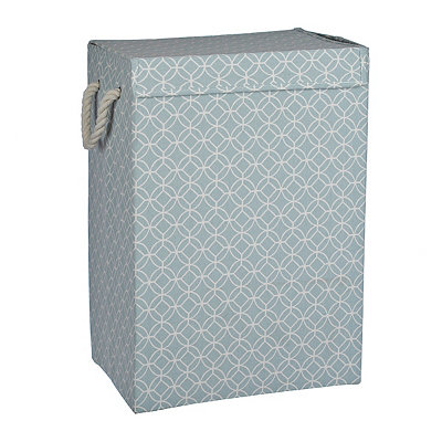 Turquoise Collapsible Hamper