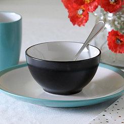 Black and White Parker Bowl