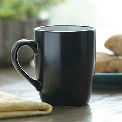 Black and White Parker Mug