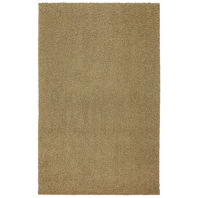 Kings Gold Habitat Shag Area Rug, 5x8