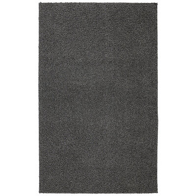 Earth Gray Habitat Shag Area Rug, 5x8