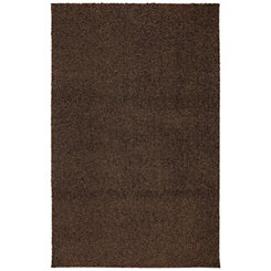 Brown Habitat Shag Area Rug, 5x8