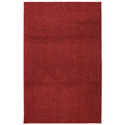 Crimson Habitat Shag Area Rug, 8x10