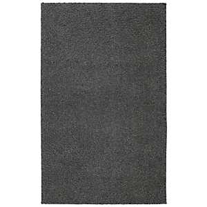 Earth Gray Habitat Shag Area Rug, 8x10