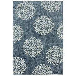 Exploded Medallions Shag Area Rug, 5x7
