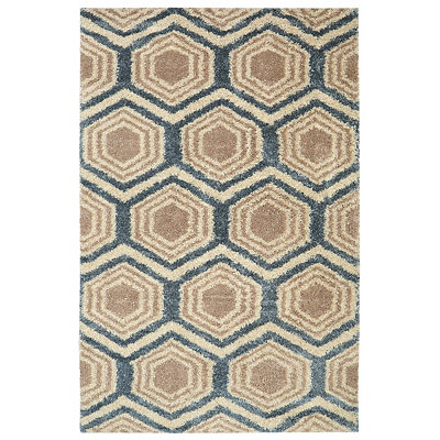 Five Forks Shag Area Rug, 5x8