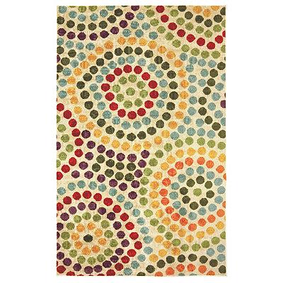 Mosaic Stones Nylon Print Area Rug, 8x10