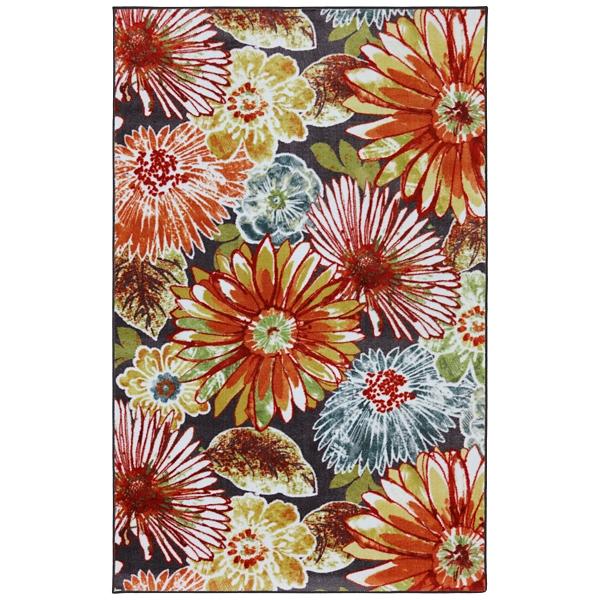 charm nylon print area rug 5x8