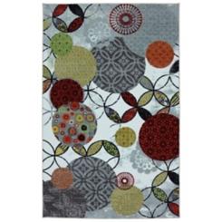Give and Take Nylon Print Area Rug, 8x10