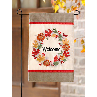 Harvest Welcome Flag Set