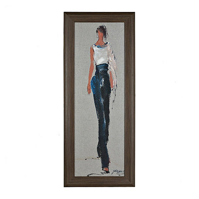 Catwalk Strut II Framed Art Print