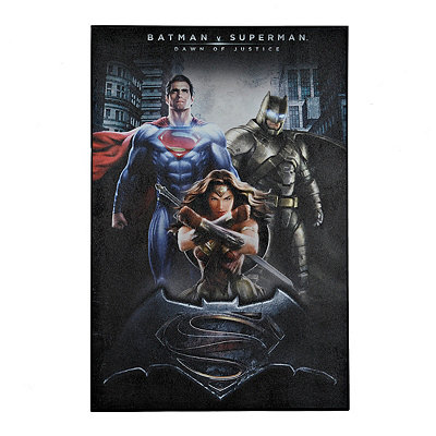 Batman v Superman Canvas Art Print