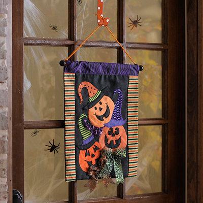 Jack O' Lantern Wall Hanger