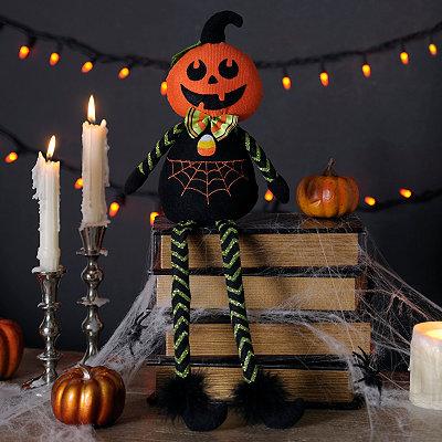 Jack the Pumpkin Halloween Sitter