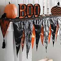 Halloween Mantel Scarf