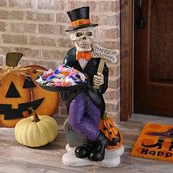 Skeleton Man Candy Holder
