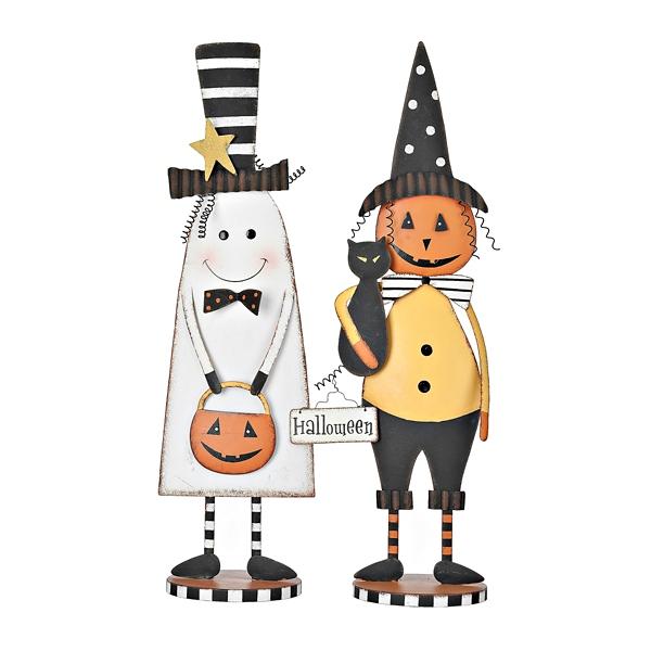 Halloween Metal Character Statues