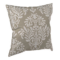Gray Heather Pillow